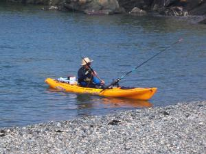 Kayak Fishing at Cemlyn Bay - Anglesey Hidden Gem