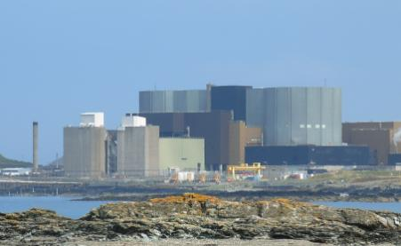 Wylfa Nucelear Power Station at Cemlyn Bay, Anglesey