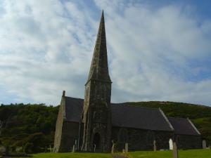 Llanrhuddlad Church in Church Bay Anglesey