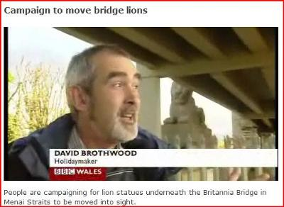 Copyright BBC Wales - David's Two Lions Interview