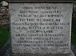 Llanallgo Church - Moelfre Royal Charter