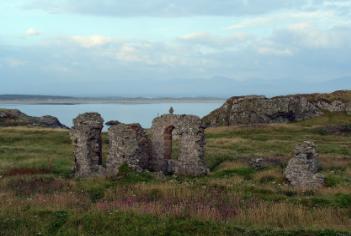 St Dwynwen's Priory - Llanddwyn Island, Anglesey