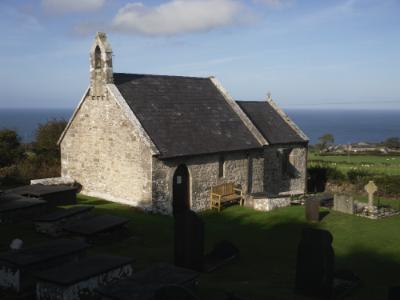 Llanfihangel Din Sylwy Church - Near Llanddona on Anglesey
