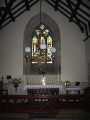 Llangadwaladr Church, Bodorgan, Anglesey