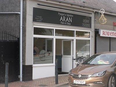 www.anglesey-hidden-gem.com - Llangefni Aran Fish & Chips
