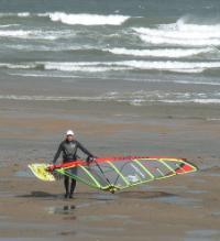 Lligwy Windsurfer