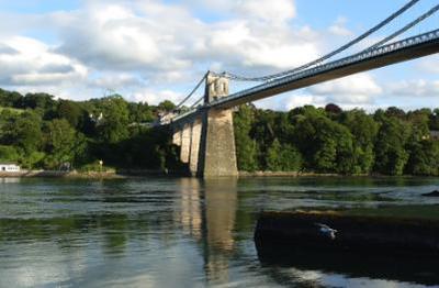 Thomas Telford's Menai Suspension Bridge