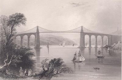 Menai Bridge or Bont Borth