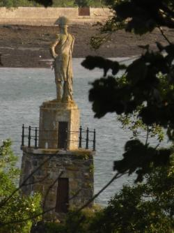 Nelson's Statute on the Banks of the Menai Straits - Anglesey Hidden Gem