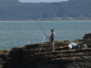 Moelfre Ledge Fisherman