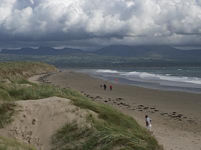 Llanddwyn Beach toward Abermenai Point, Anglesey