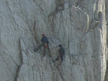 North Stack Rock Climbers - Anglesey Hidden Gem