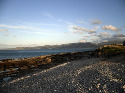 Penmon - View of the Carneddau Mountains