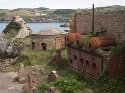 Porth Wen Brickworks Cemaes Bay  Anglesey