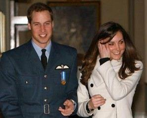 Prince William & Miss Kate Middleton