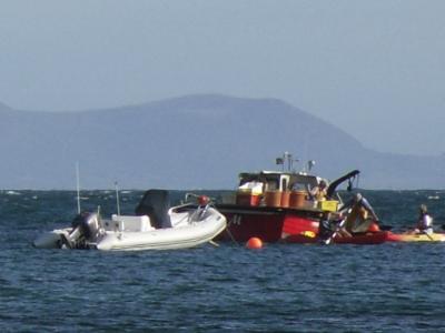 Rhoscolyn Fishing Boat
