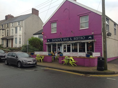 Anglesey-Hidden-Gem.com - Sandy's Bistro & Bar
