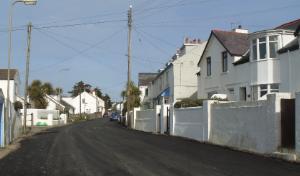 Sunny Rhosneigr Street