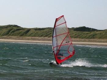 Windsurfing at Rhosneigr Anglesey Hidden Gem
