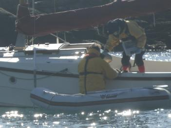 Sailing on  Anglesey