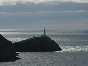 South Stack Lighthouse from North Stack, Holy Island Anglesey