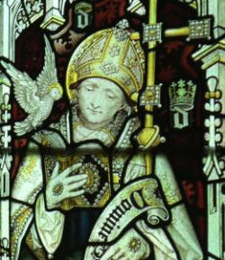 St David - Image from Jesus Chapel
