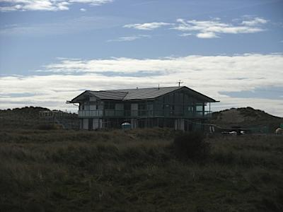 Constructing The New Rhosneigr Oyster Catcher