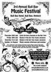 Bull Bay Music Festival Poster