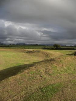 Castell Bryngwyn near Brynsiencyn on Anglesey
