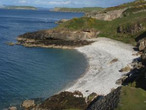 White Beach on Anglesey's East Coast
