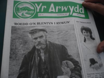 Washi Bach article in Yr Arwydd, Amlwch