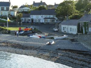 Moelfre Bay on Anglesey Coastal Path
